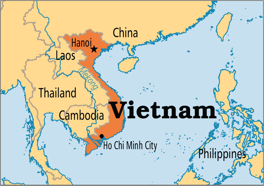 Best Vietnamese Websites - World map in vietnamese language