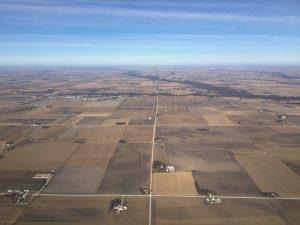 Iowa-aerial photo