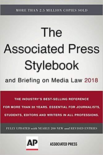 AP style book 2018