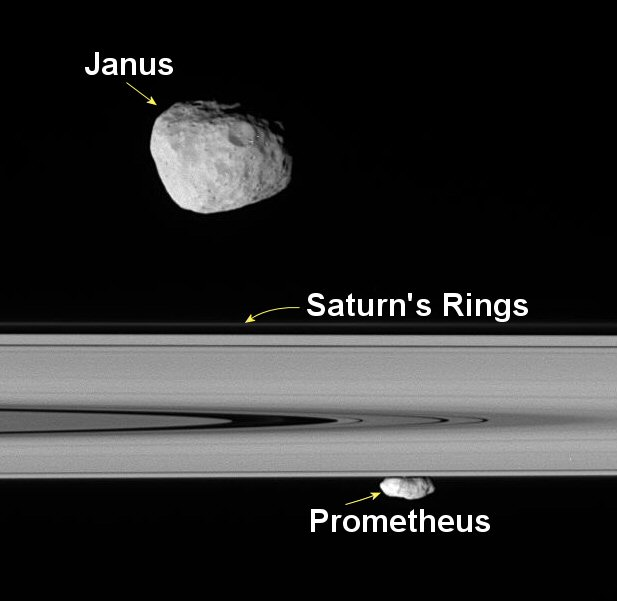 how much moons does saturn have - photo #8